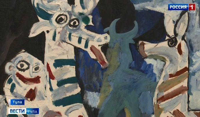 Туляки увидят большую  коллекцию работ советских художников
