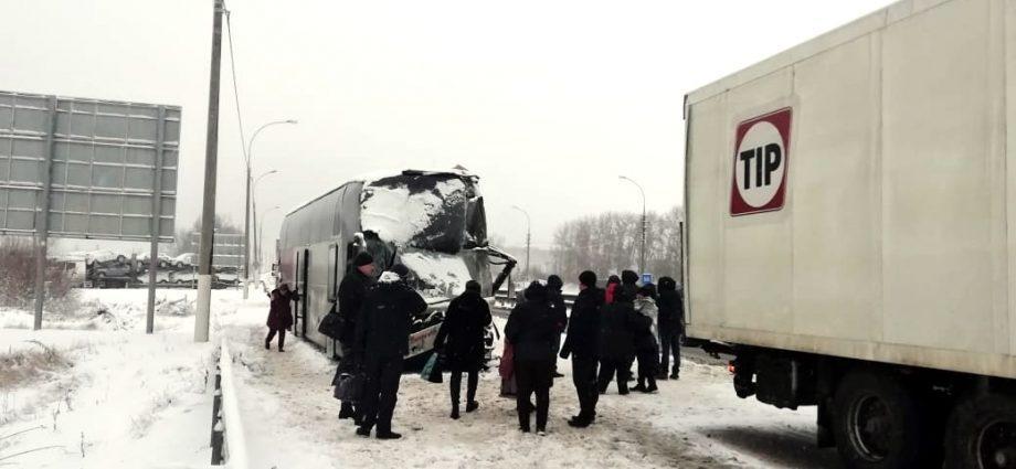 ДТП на трассе М-4 «Дон» в Венёвском районе Тульской области 11 января 2020 года