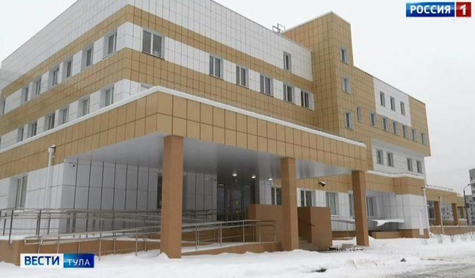Корпуса Тульской детской областной больницы поставили на кадастровый учет