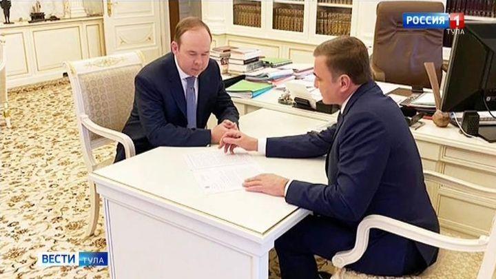 Алексей Дюмин рассказал руководителю администрации президента о создании регионального центра управления