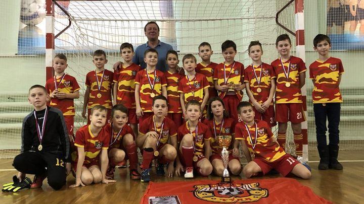 Юные футболисты «Арсенала» стали победителями турнира в Орле