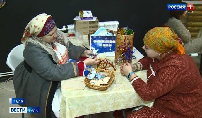Гостей «Добродея» погрузили в новогоднюю атмосферу прошлых веков