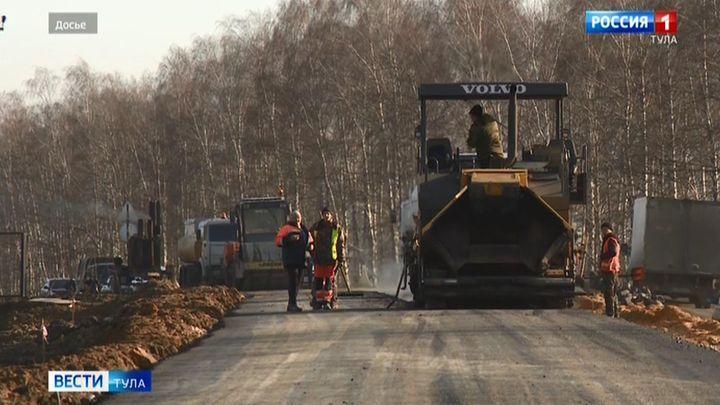 В Кимовском районе ремонт дорог затянулся