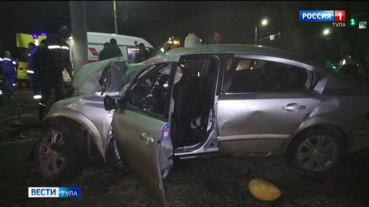 Три человека погибли в ночном ДТП в Туле