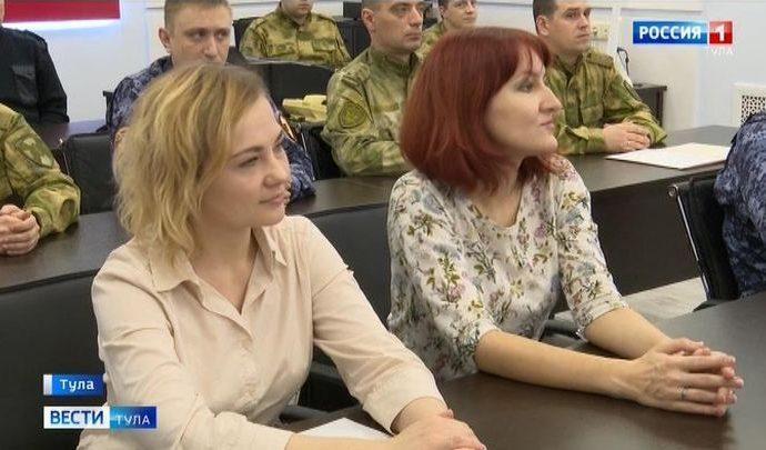 Журналисты ГТРК «Тула» получили награды от Росгвардии