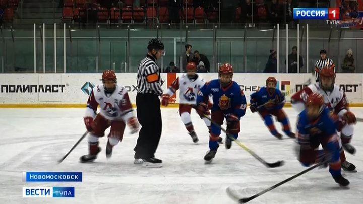 Тульские хоккеисты взяли «серебро» на Спартакиаде учащихся ЦФО