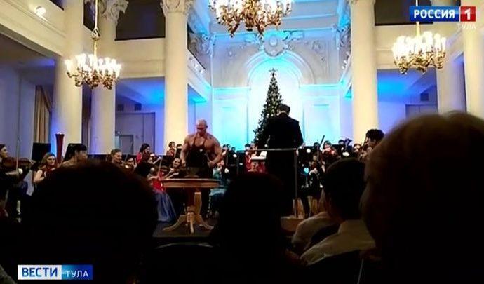 На Венском концерте в Дворянском собрании сыграл кузнец