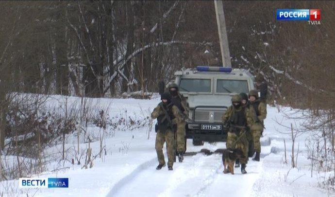 Бойцы тульских спецподразделений отработали ликвидацию вооруженного бандформирования
