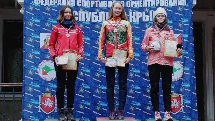 Тульские ориентировщицы завоевали шесть медалей в Крыму