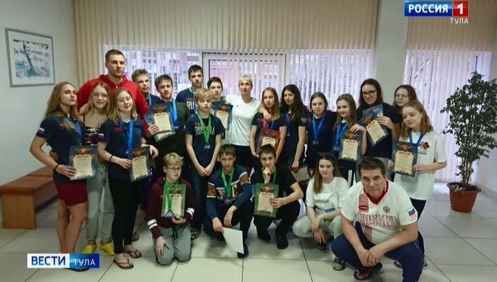 Тульские пловцы завоевали 22 медали на всероссийских соревнованиях