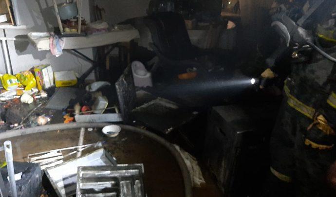 Тульские спасатели вывели из огня 6 человек