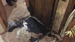 В Узловой в результате пожара пострадала пожилая женщина
