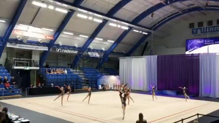 Гимнастки «Роксэта» выиграли международный турнир в Эстонии