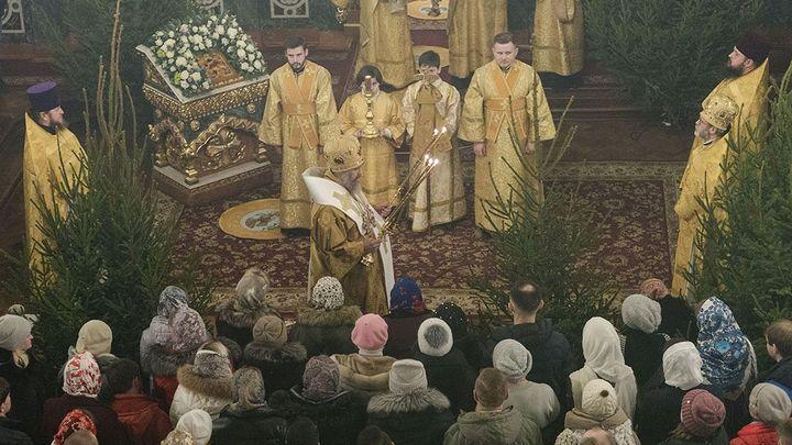 В тульских храмах состоялись Рождественские богослужения