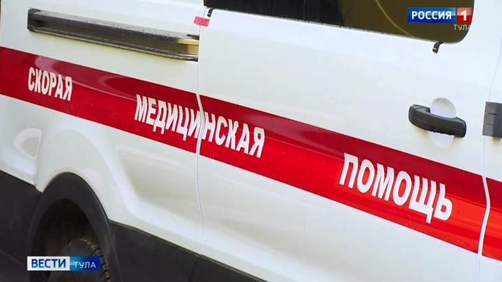 В Богородицкий район поступили современные машины скорой помощи