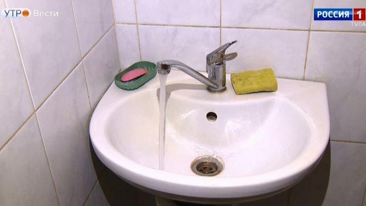 Стали известны результаты исследования водопроводной воды в Туле
