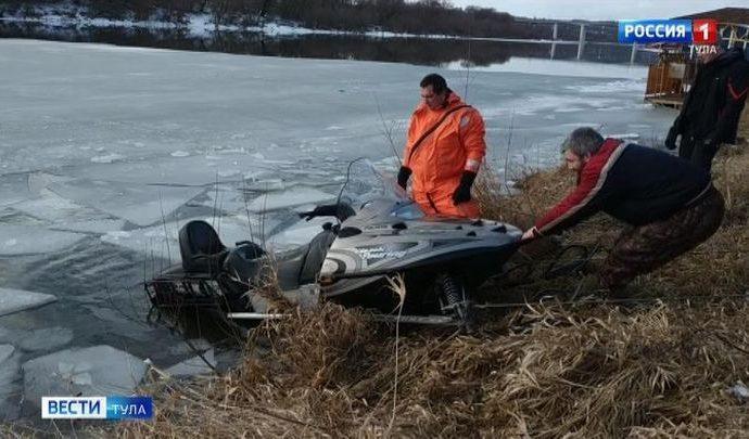 В Алексине во время патрулирования Оки спасатели предотвратили трагедию