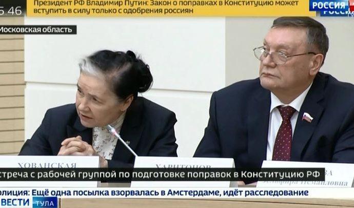 Сергей Харитонов рассказал о встрече с президентом по вопросу поправок в Конституцию
