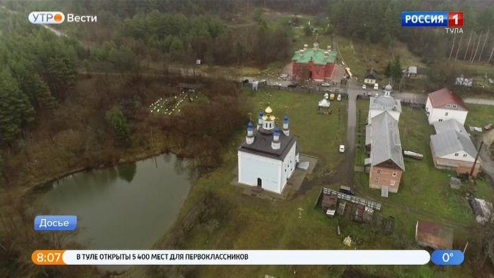 В Белёвском районе завершается возрождение монастыря