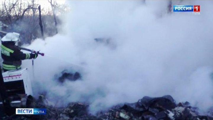 В Тульской области два человека погибли в пожарах