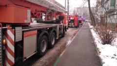 Пожар  с пострадавшим произошёл в Туле