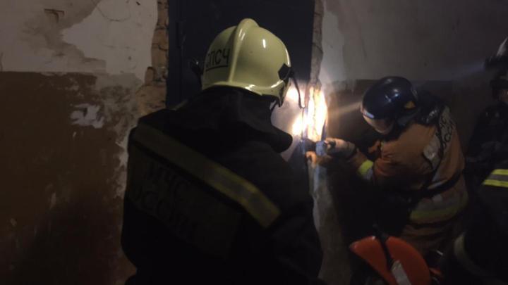 В Туле на улице Островского сгорела квартира