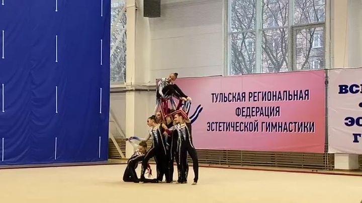 В Туле завершились первенство области и межрегиональный турнир по эстетической гимнастике