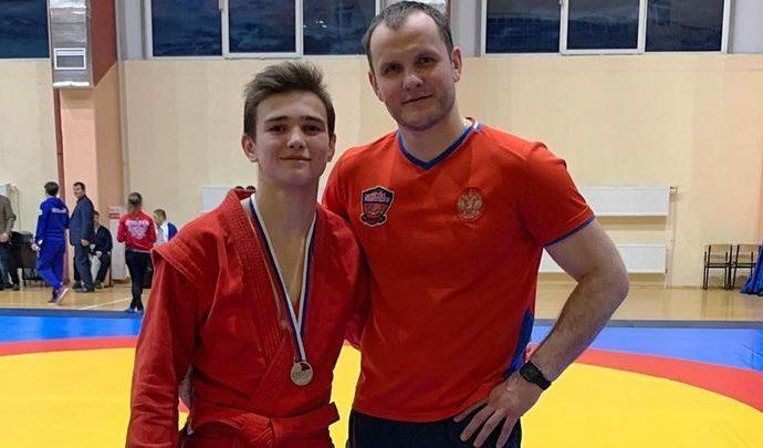 Тульский самбист стал серебряным призёром первенства России