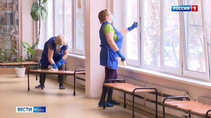 В Тульской области грипп атакует дошкольников