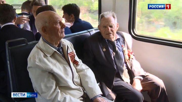 Ветераны ВОВ получили право на пожизненный бесплатный проезд в поездах