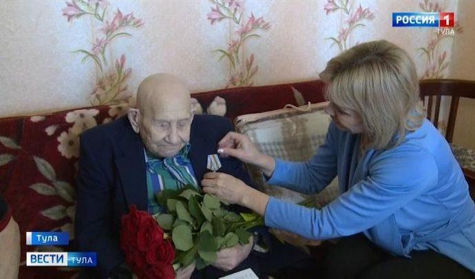 В Туле продолжают чествовать ветеранов Великой Отечественной войны