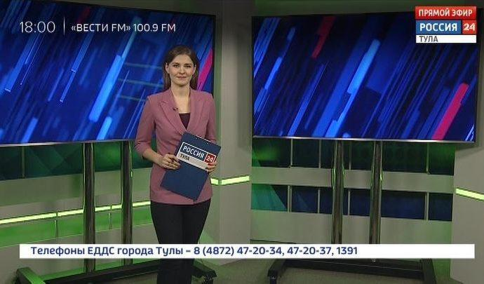 Россия 24 Тула. Эфир от 16.03.2020
