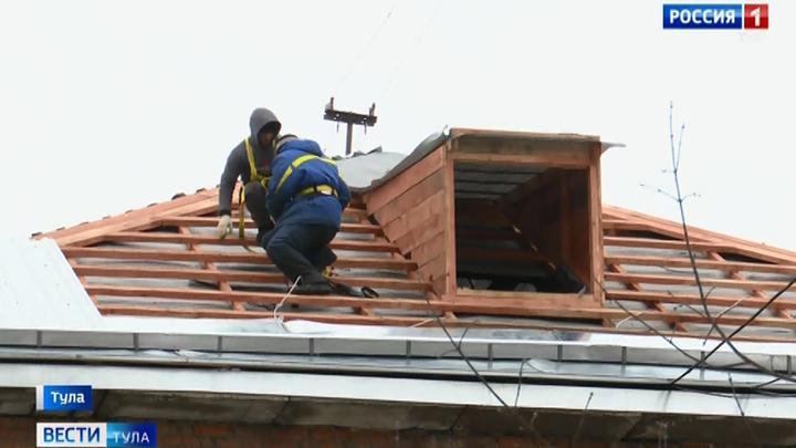 На Баженова в Туле капитально отремонтируют 12 домов