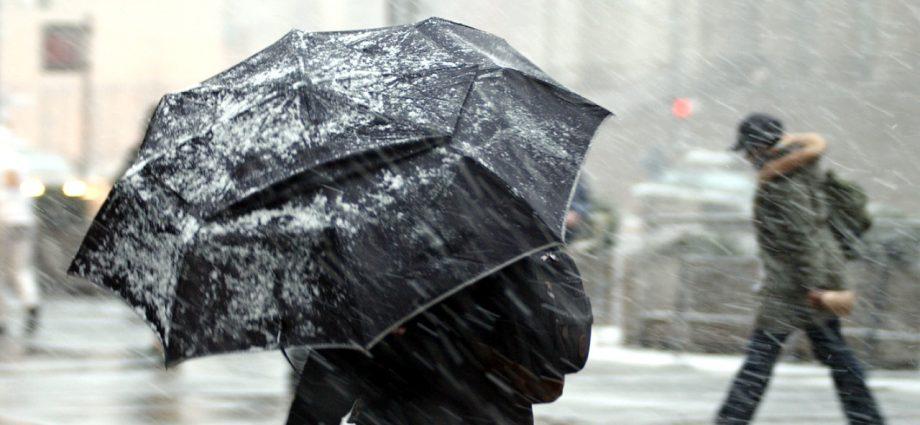 Ухудшение погоды: ветер и снег