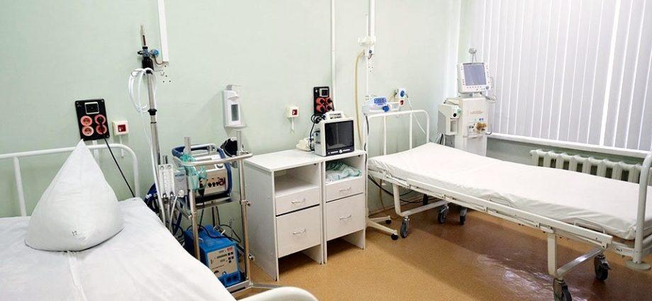 Больничные койки в Тульской областной больнице