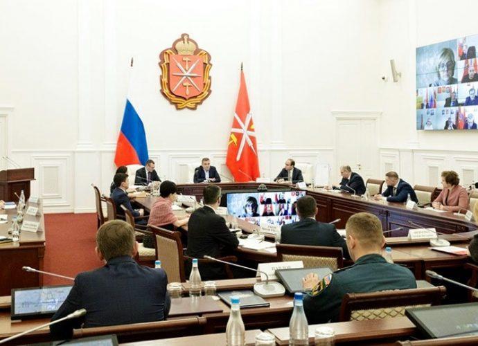 Заседание региональной оперативной группы по борьбе с коронавирусом