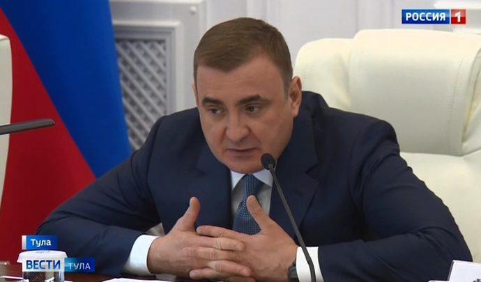 Алексей Дюмин потребовал привести в порядок стелы и мемориалы