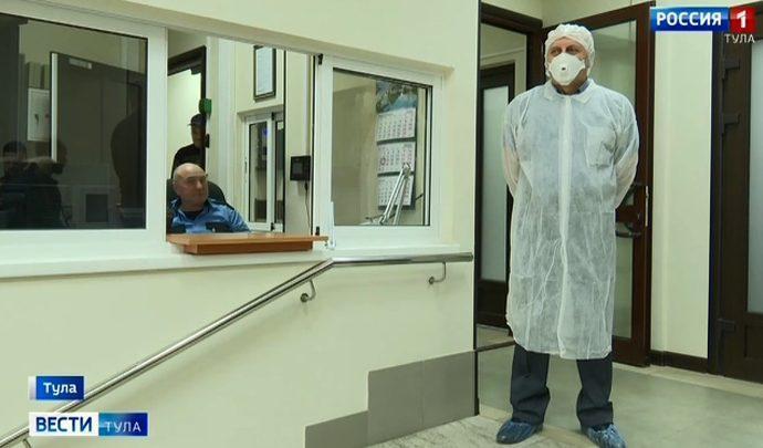 На тульских предприятиях «фильтруют» коронавирус
