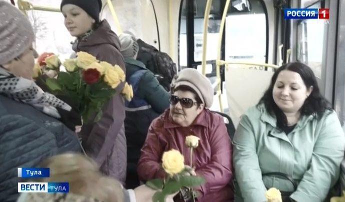 Пассажирам муниципального транспорта Тулы оказалось «с весной по пути»