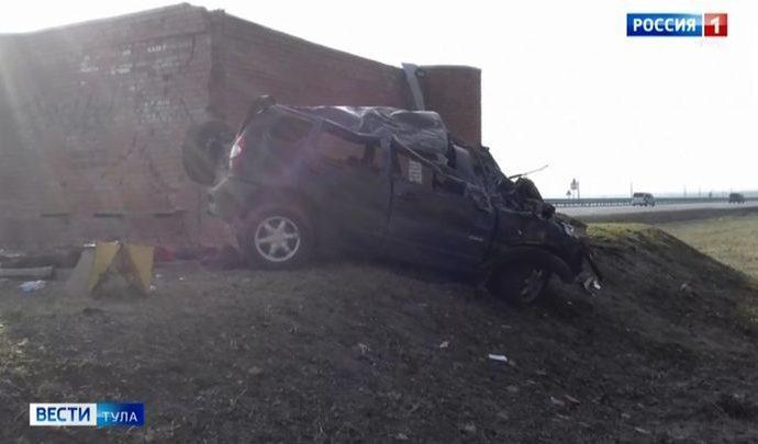 Три человека погибли в ДТП в Воловском районе