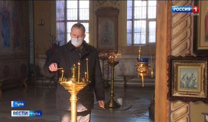 Православная церковь начала борьбу с COVID-19