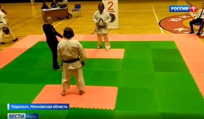 Тульские единоборцы привезли 17 медалей из Подольска