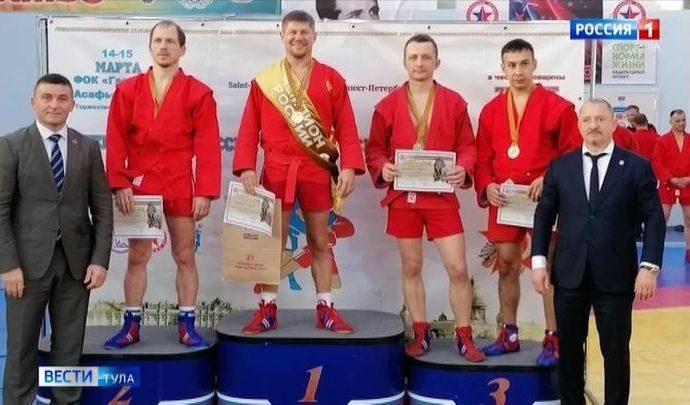 Представители Тульской области завоевали две медали на чемпионате России по самбо
