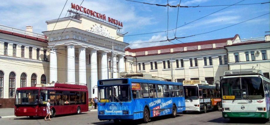 Московский вокзал в Туле