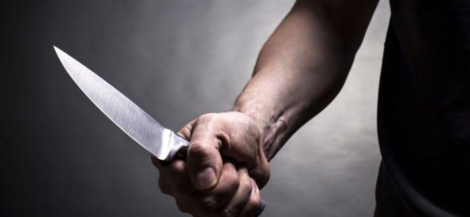 Убийство, нож