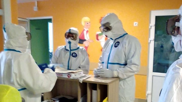 Инфекционный госпиталь на базе Тульской детской областной клинической больницы