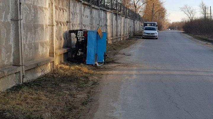 В Ясногорском районе мужчина не совладал с «Муравьём»