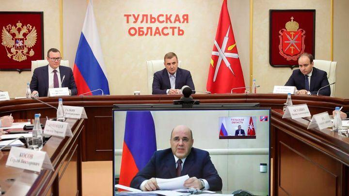 Алексей Дюмин принял участие в заседании рабочей группы Госсовета по противодействию коронавирусу