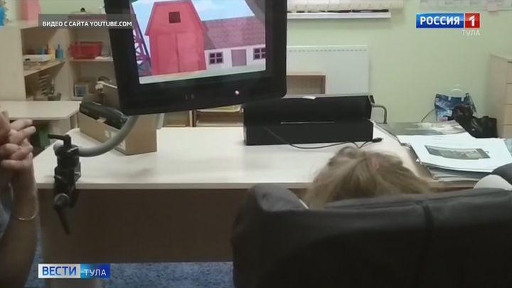 Пациентам областного центра детской неврологии поможет айтрекер