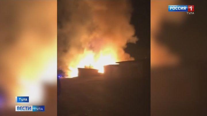 На месте пожара в Туле обнаружен труп